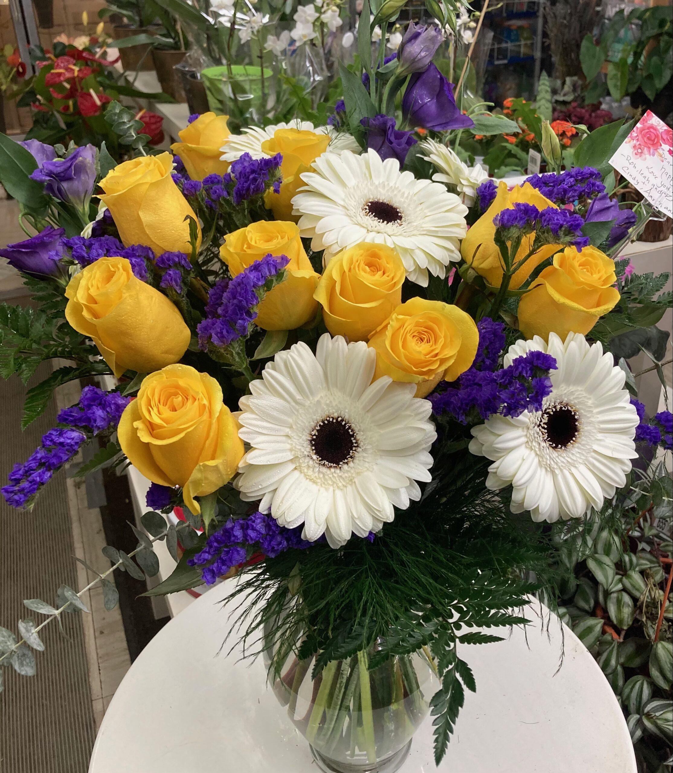 Sunny color arrangement