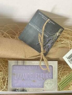 Lavender collection gift kit- wrapped in box